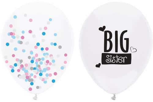 Grote zus ballon
