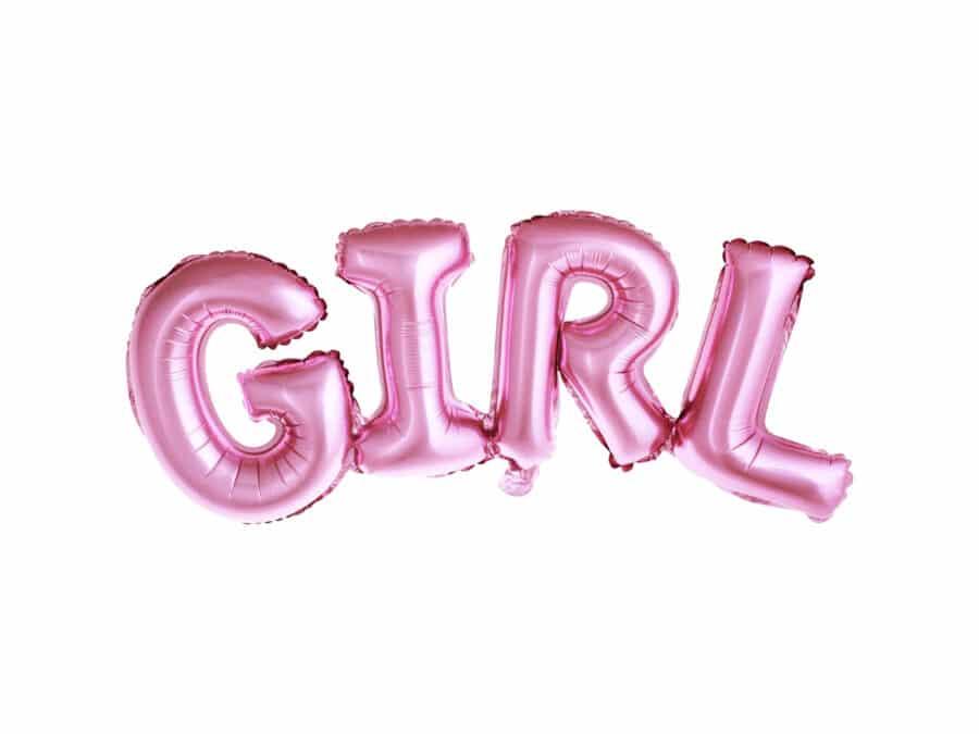 folie ballon meisje