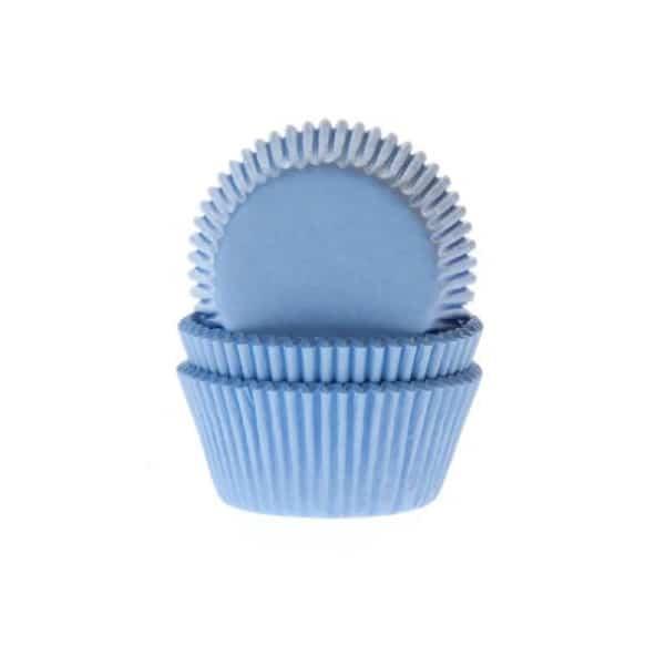 cupcake vormpjes blauw
