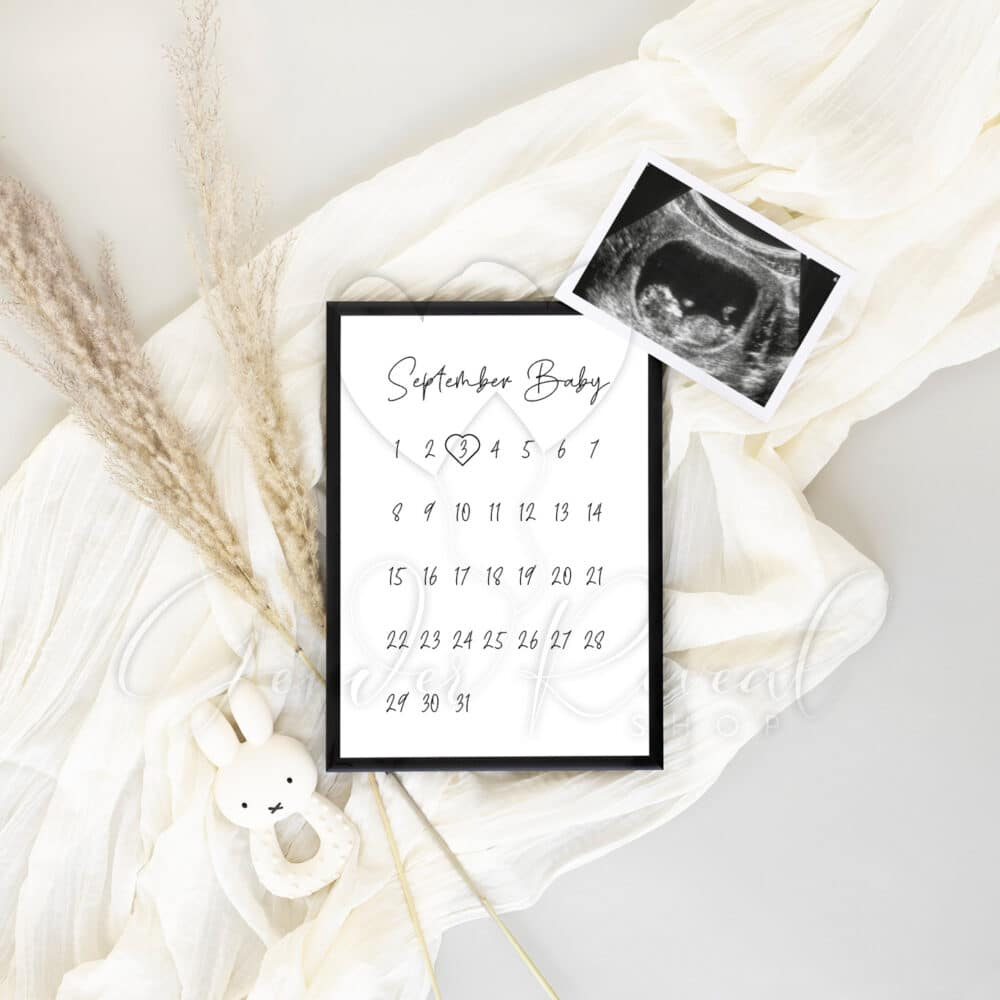 digitale zwangerschapsaankondiging